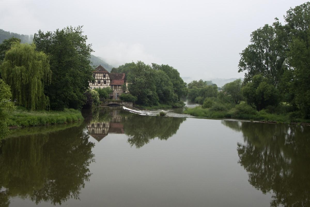 tussen Heidelberg en Augsburg