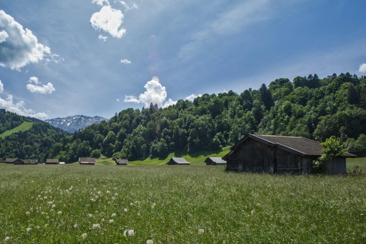 Schuurtjes bij Garmisch2