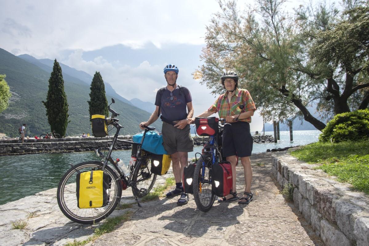 Bij het Garda meer