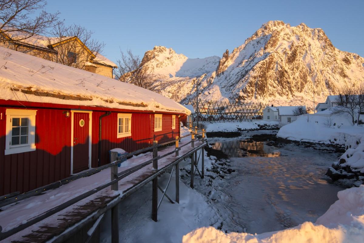Huisje in Svolvær