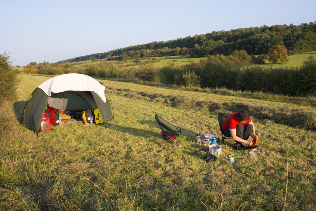 wild kamp in België