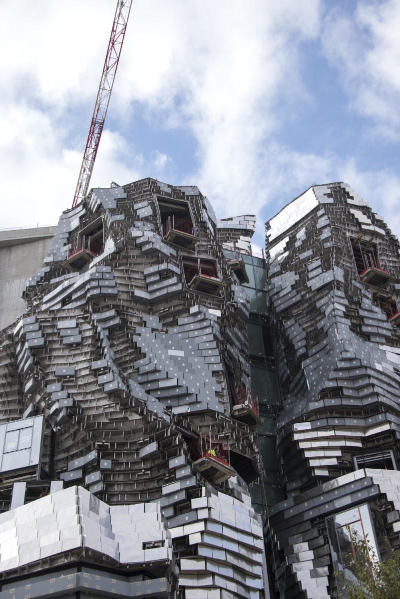 Luma arles in aanbouw Architect Frank Ghery