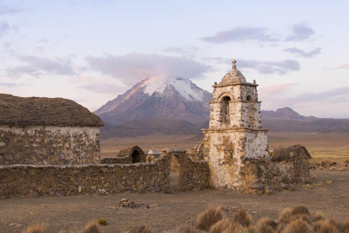 Oude kerk van Lagunas
