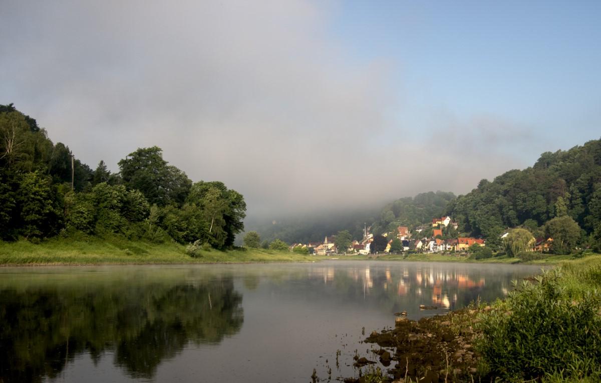 Stadt Whelen in de ochtend