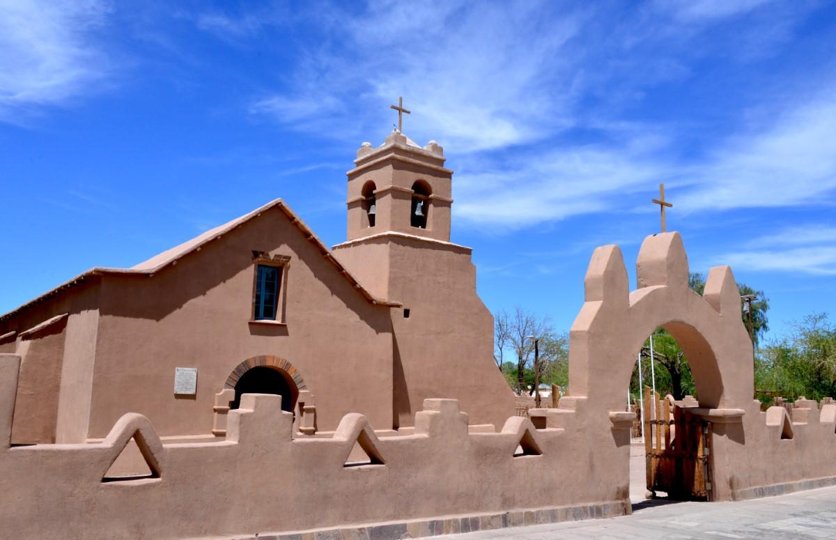 kerkje St Pedro de Atacama