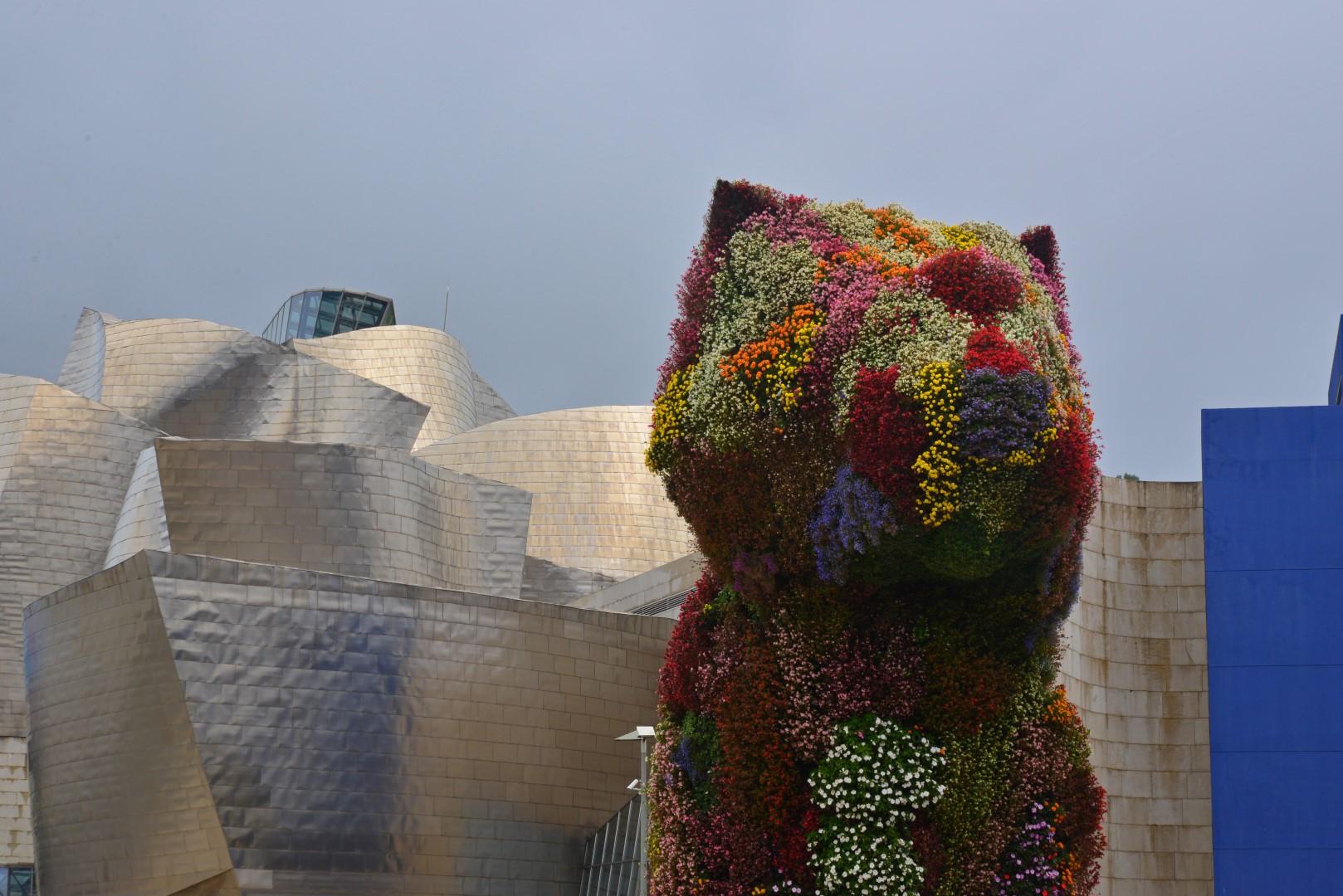 Pupie voor het muzeum Bilbao