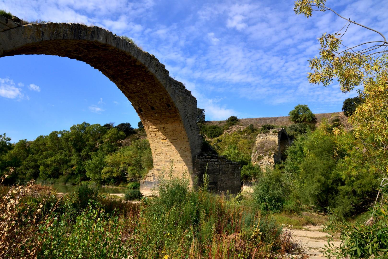Oude brug over de Ebro
