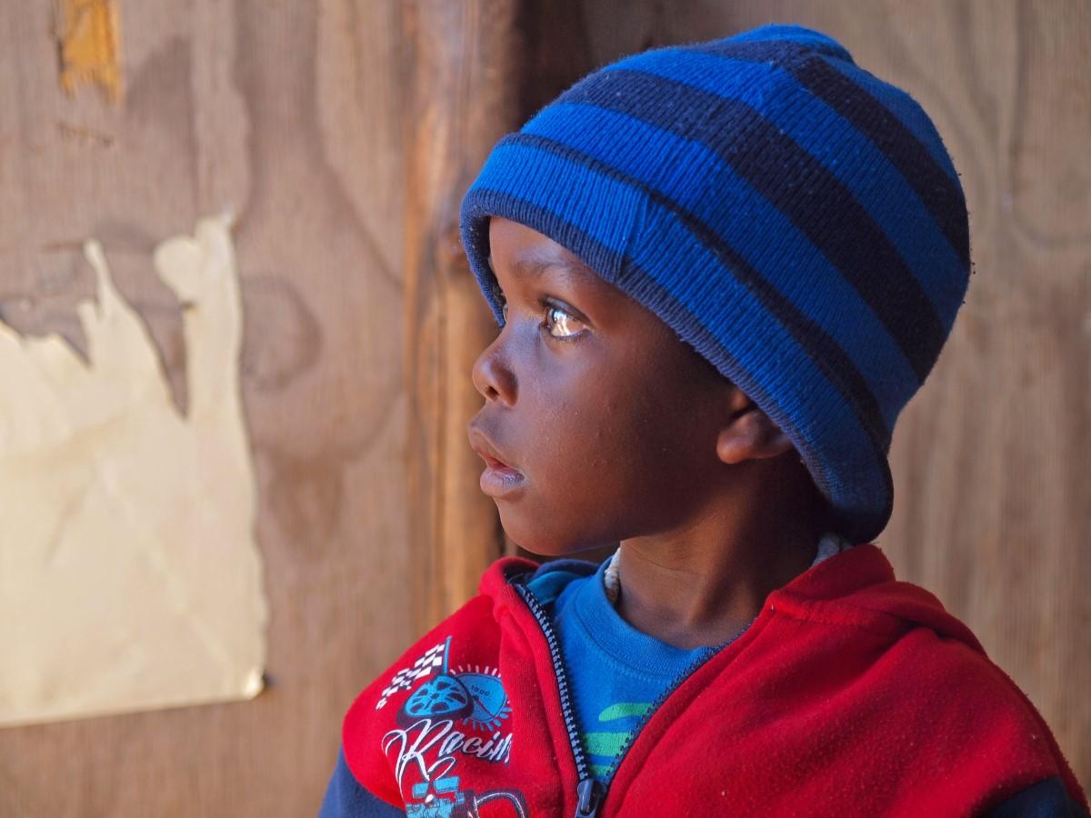 Kleuter in Swakopmund