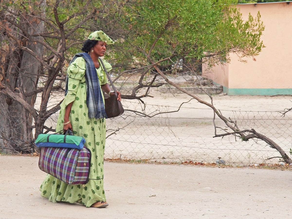 Herero vrouw