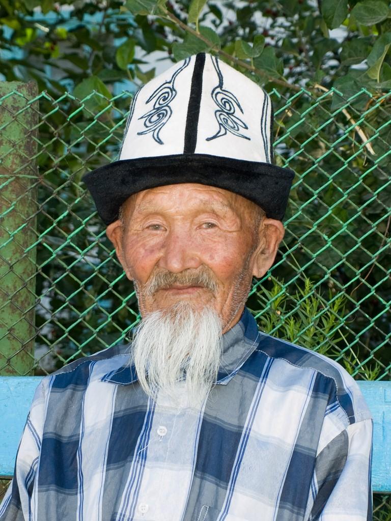 Kirgisische man