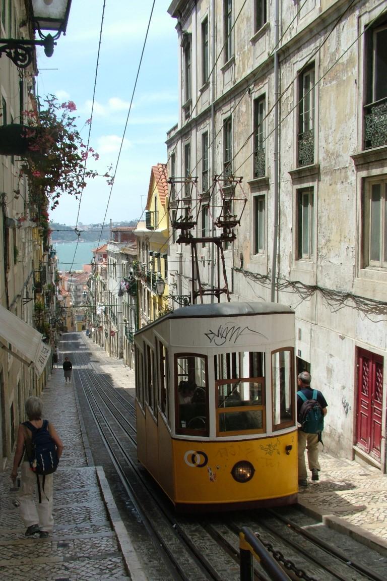 De electrico in Lissabon