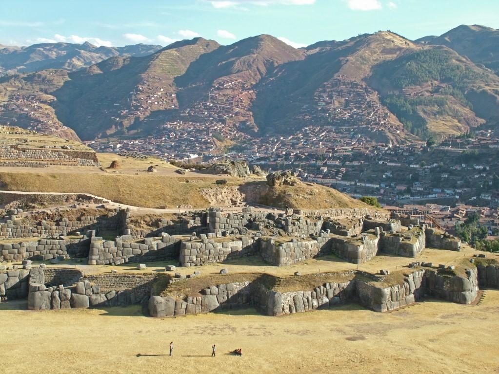 Sacsayhuamán ruine bij Cusco