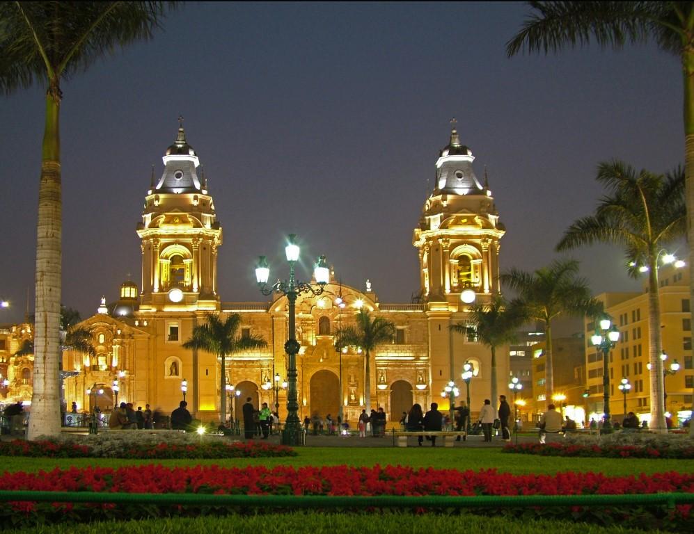 Lima bij nacht