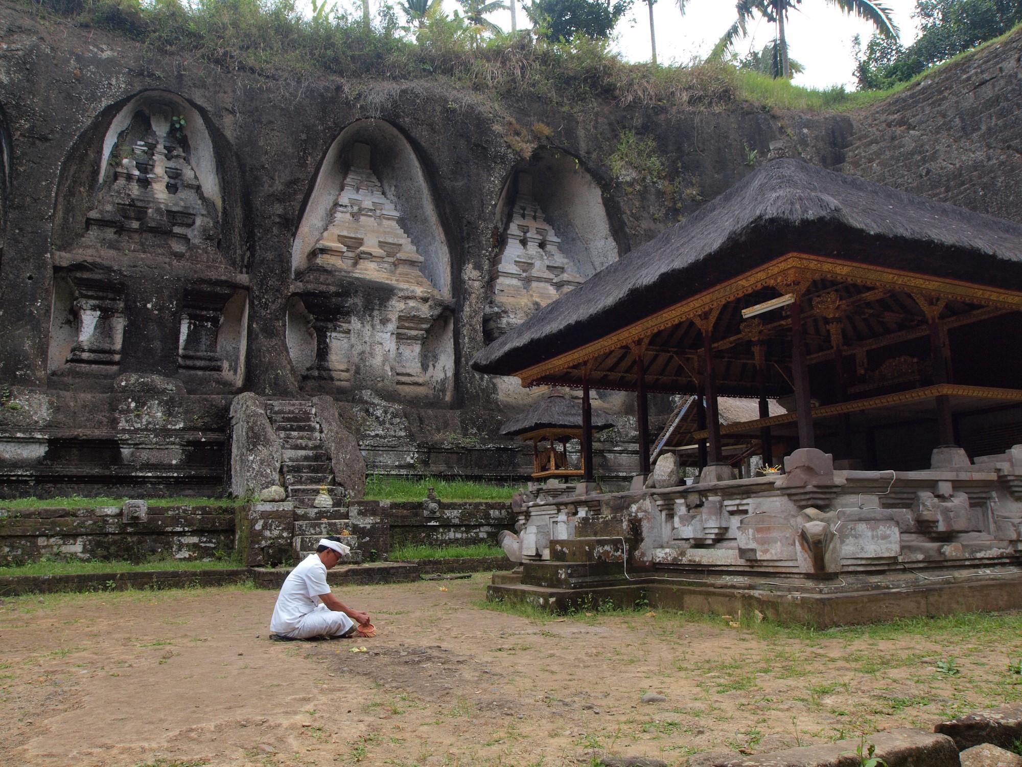 tempel op Bali