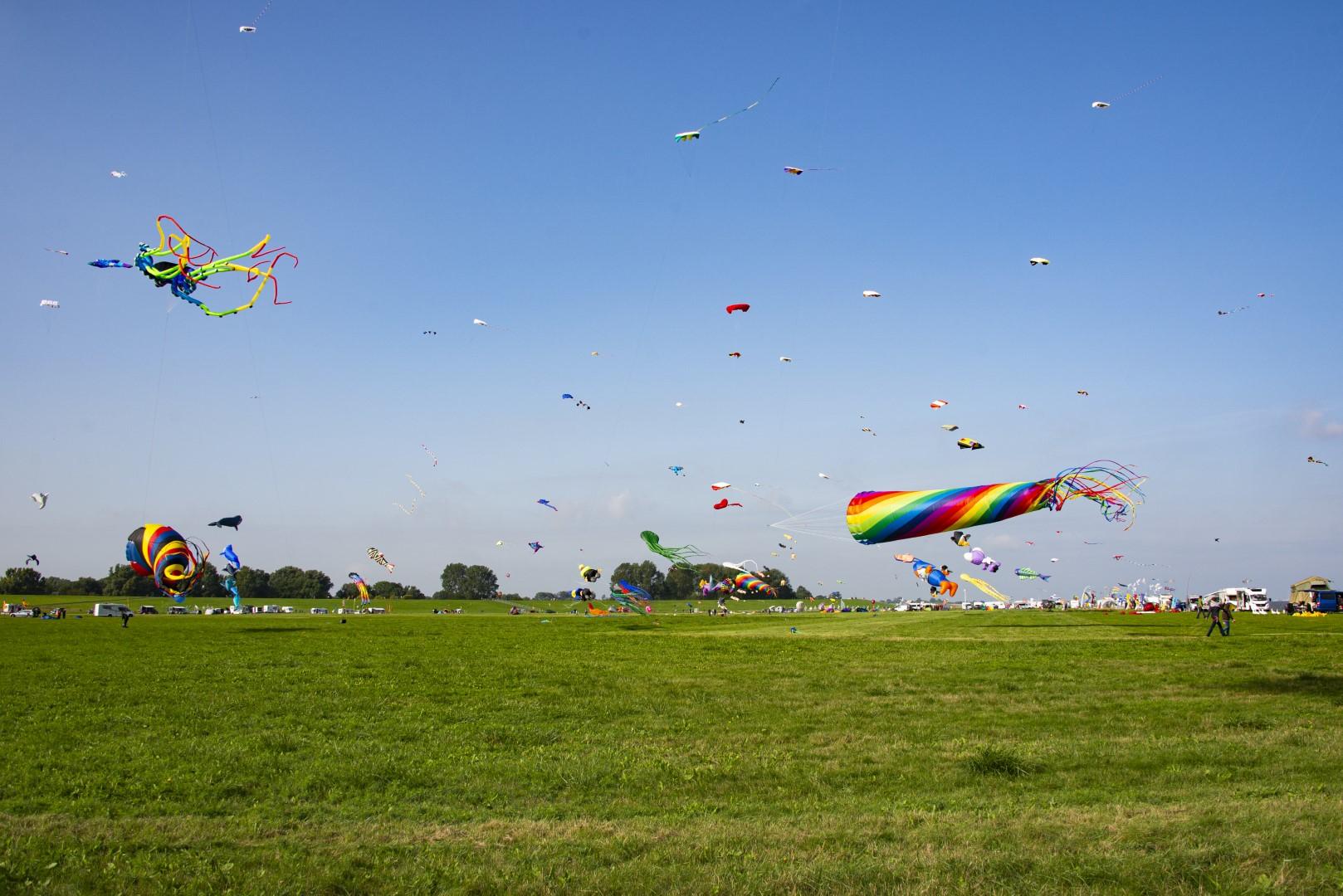 Vlieger festval bij Otterndorf