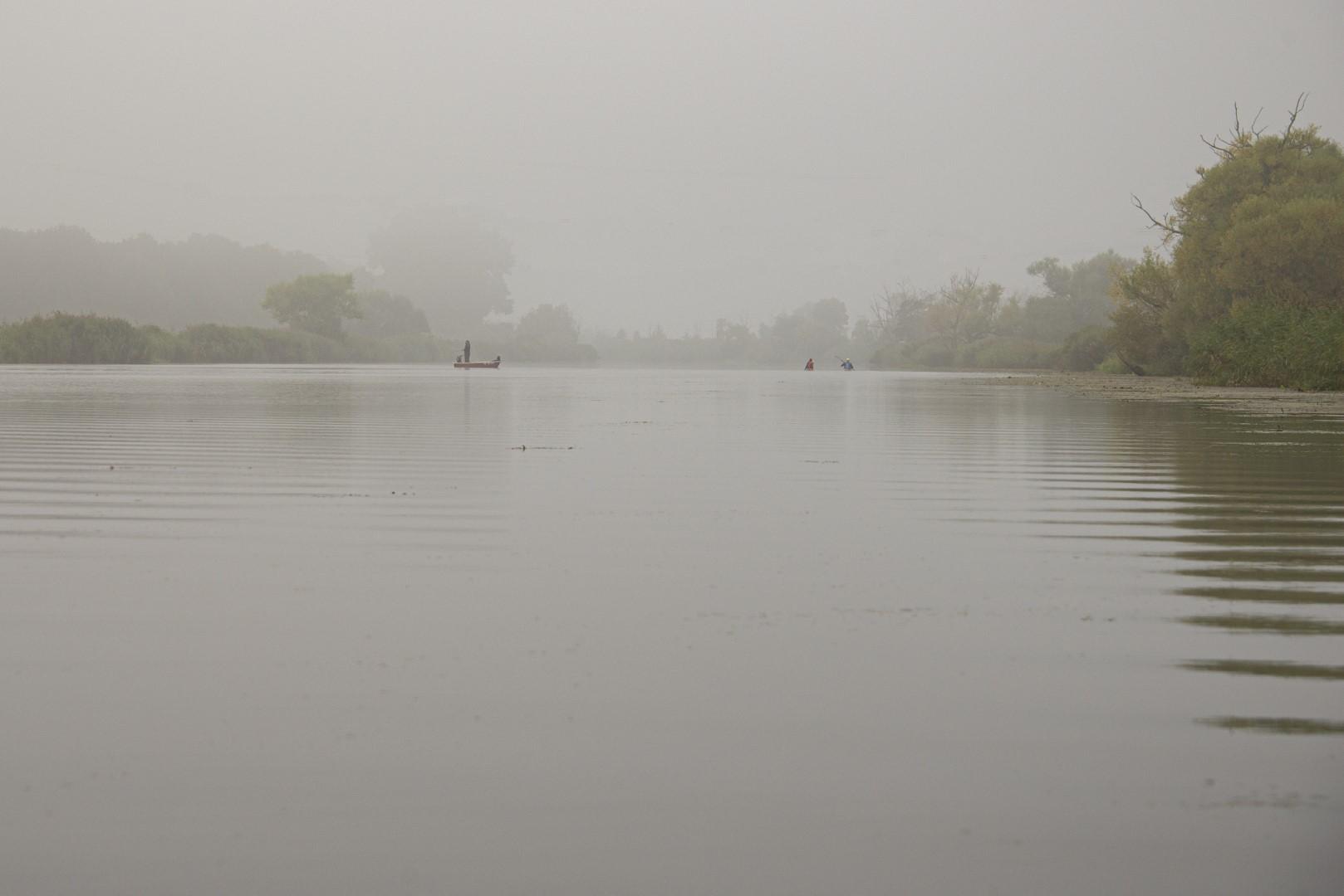 mist boven de Peene